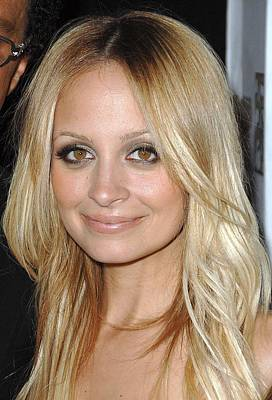 Nicole Richie  At Arrivals Poster by Everett