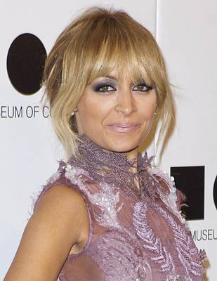 Nicole Richie At Arrivals For 2011 Moca Poster by Everett