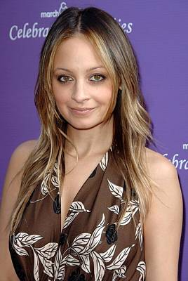 Nicole Richie At Arrivals For March Poster by Everett
