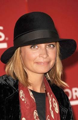 Nicole Richie Wearing An Alexander Poster