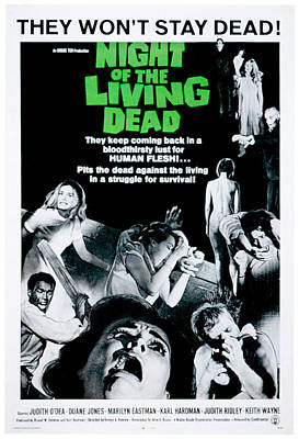 Night Of The Living Dead, Duane Jones Poster