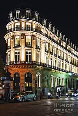 Night Paris Poster