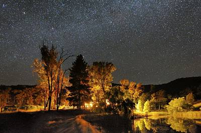 Night Sky, Australia Poster