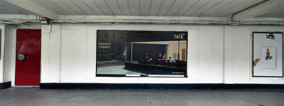 Nighthawks At Earls Court Poster