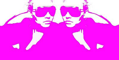 Niki Mirror Pink Poster