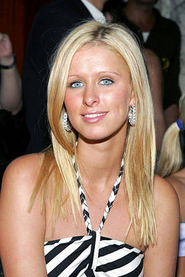 Nikki Hilton At Arrivals For Alvin Poster by Everett