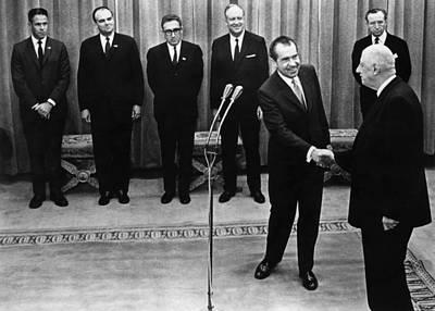 Nixon Presidency. From Left White House Poster by Everett