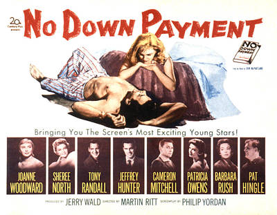 No Down Payment, Joanne Woodward Poster