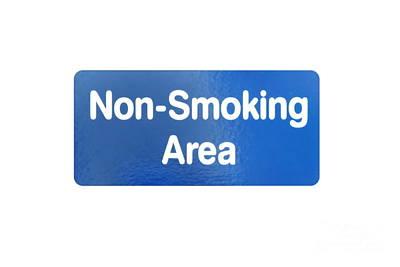 Non Smoking Area Poster