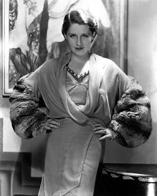 Norma Shearer, 1930s Poster by Everett
