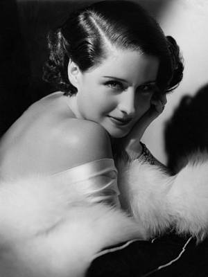 Norma Shearer, Mgm Portrait, Ca. 1934 Poster by Everett