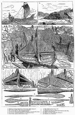 Norway: Viking Ship Poster