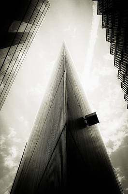 Not The Shard Poster by Lenny Carter