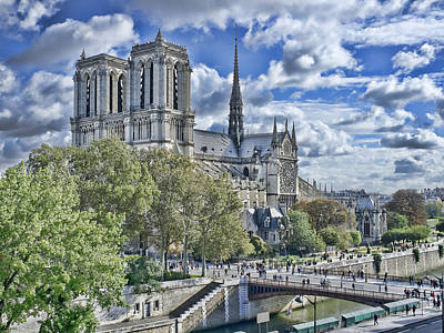 Poster featuring the photograph Notre Dame by Hugh Smith