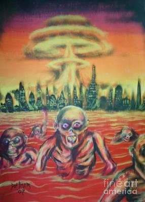 Nuclear Family Poster by Matt Detmer