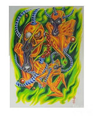 Nuclear Scavengers Poster by Matt Detmer