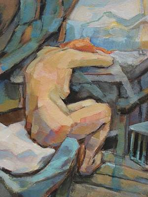 Nude Painting 3 Poster by Alfons Niex