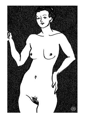 Nude Sketch 22 Poster