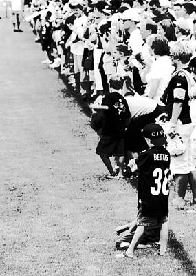 Number 1 Bettis Fan - Black And White Poster