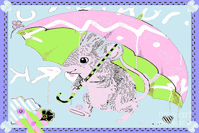 Nursery Baby Juvenile Licensing Art Poster by Anahi DeCanio