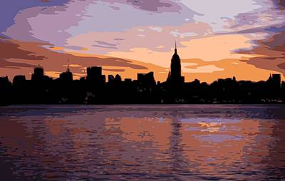 Nyc Morning Color 16 Poster by Scott Kelley