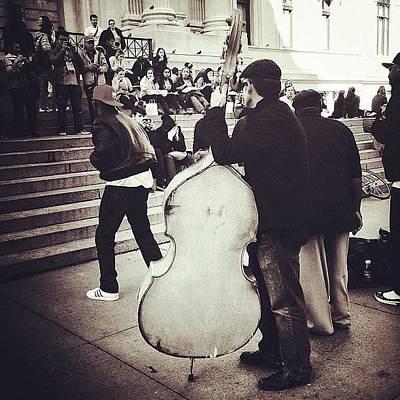 #nyc #ny #manhattan #newyork #cello Poster