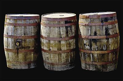 Oak Barrel Old Style Poster
