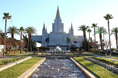 Oakland California Temple . The Church Of Jesus Christ Of Latter-day Saints . 7d11305 Poster