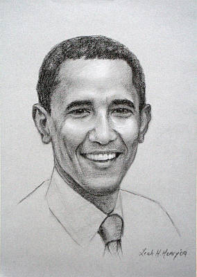 Obama Poster by Leah Hopkins Henry