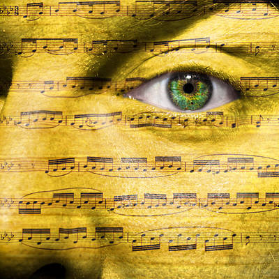 Obsessed With Music Poster by Semmick Photo