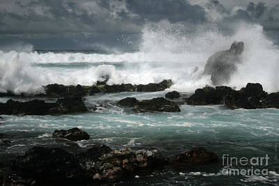 Ocean In Motion Poster