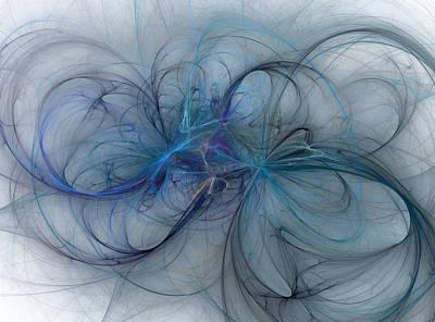 Ocean Threads Poster by Betsy Knapp