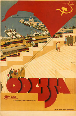 Odessa Poster by Georgia Fowler