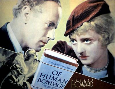 Of Human Bondage, Poster Art, Leslie Poster