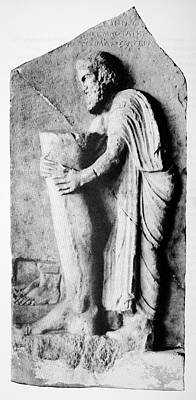 Offering To The Greek God Of Medicine Poster
