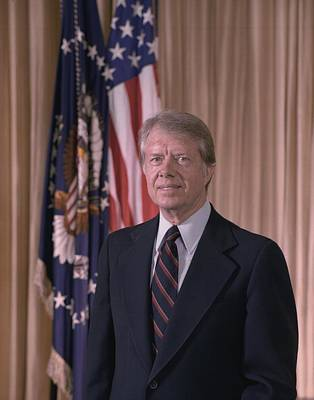 Official Portrait Of President Jimmy Poster by Everett