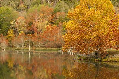 Oklahoma Autumn Poster