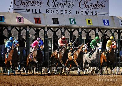 Oklahoma Horse Racing Poster