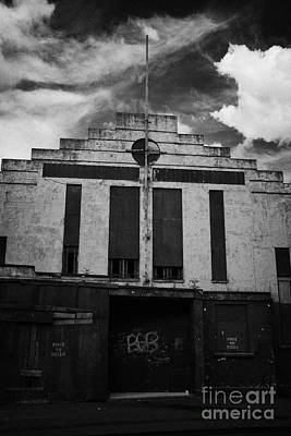 Old Abandonded Ballymoney Dance Hall County Antrim Northern Ireland Poster