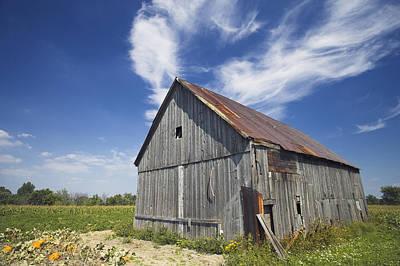 Old Barn, Haldimand County, Niagara Poster