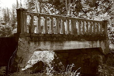 Poster featuring the photograph Old Bridge by Paula Brown