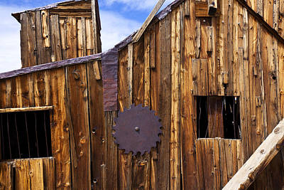 Old Building Bodie Ghost Town Poster by Garry Gay