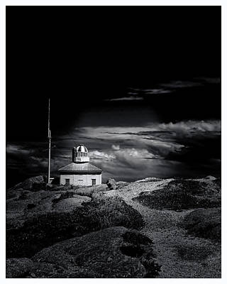Old Cape Spear Lighthouse - Newfoundland Poster by Steve Hurt