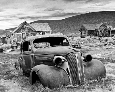 Old Car Bodie Poster by Joe  Palermo