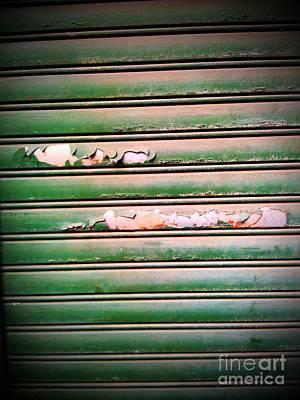 Old Garage Door Poster by Eena Bo