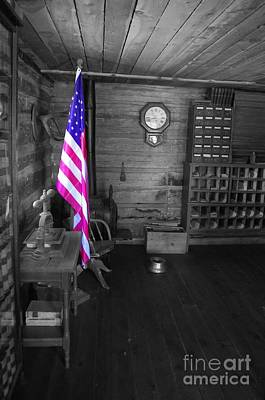 Poster featuring the photograph Old Glory by Deniece Platt