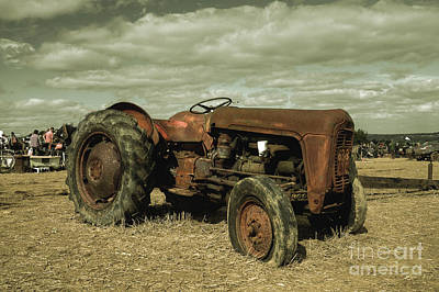 Old Massey Poster by Rob Hawkins