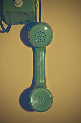Old Phone Poster by Joana Kruse