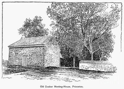 Old Quaker Meeting House Poster