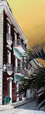Old San Juan 5 Poster